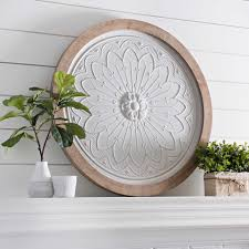 Free shipping and up to 20% off on outdoor living & pool. Round Wood Framed Tile Plaque 36 In Kirklands Wall Decor Sale Wall Decor Wall Art Decor