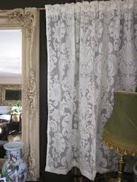 vintage lace curtain panels remarkable old fashioned curtains amazing antique home ideas 43