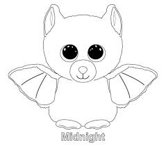 Ty Beanie Boo Coloring Pages Download And Print For Free Resume