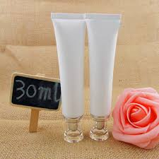 aliexpress 30ml empty makeup conner bb cream plastic nozzle eye cream with acrylic cap from reliable