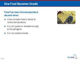 Servsafe Food Temp Chart Servsafe Comprehensive Ppt Full