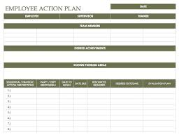 List Of Career Goals And Objectives Work Goals Template Management Evaluation Form Template List