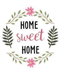 Small Picture sweetdailiness Free Home Sweet Home Printable Download it at www