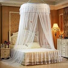 Amazon.com : TYMX Princess Bed Canopy Mosquito Net Luxury Dome ...