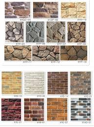 faux stone wall brick tile artficial brick exterior wall