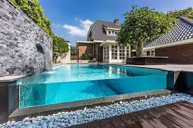 cool and modern above ground pool