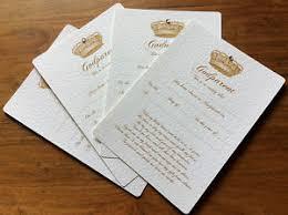 Godparents Christening Baptism Certificate Crown Design Free Uk