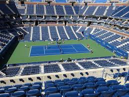 Us Open Arthur Ashe Seating Chart Arthur Ashe Stadium View From Loge 109 Vivid Seats