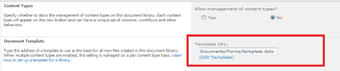 Sharepoint 2010 Library Template Add Multiple Templates To A Document Library In Sharepoint 2010