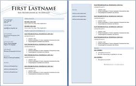 Pages Resume Templates Amazing Resume Template 48 Two Pages Version Free CV Template Dot Org