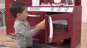 Kid Craft Retro Kitchen Kidkraft Wooden Cranberry Retro Kitchen Refrigerator Youtube