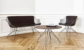 wire furniture. Overgaard \u0026 Dyrman Wire Furniture Collection Love Chair, Lounge Chair And Coffee Table T