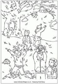 Small Picture Autumn Leaves Craft coloring page template re pinned by Thriving