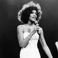 whitney black white. Whitney Houston Singing Black White