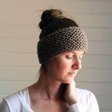 Knitted Headband Pattern Best Decoration