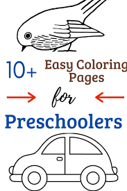There is nothing more important than the love of your child. 10 Easy Coloring Pages Free Printable For Toddlers Nested Blissfully