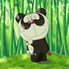 Dorapanda | Doraemon, Mèo ú, Dễ thương