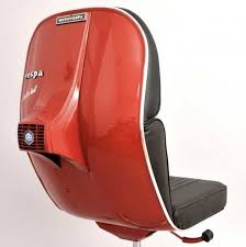 recycled vespa office chairs. Red Vespa Chair Recycled Office Chairs