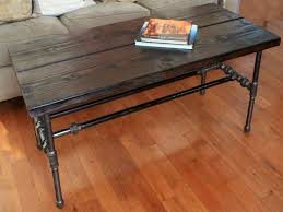 reclaimed wood coffee table metal legs wallowaoregon com diy amazing