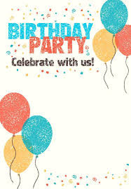 Make Birthday Party Invitations Invitation Card For Birthday Invitation Cards For Birthday Party