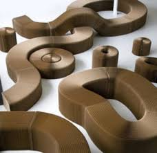 recycled paper furniture. molo designu0027s softseating strips are made of recycled craft paper that has been formed into u0027flexible honeycomb structuresu0027 the honeycombs fan out furniture d