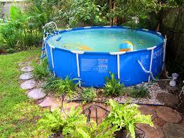 Pool Landscape Design Modren Simple Above Ground Pool Landscaping Ideas For Design