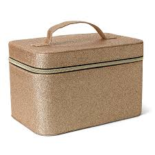 Tri Coastal Design Careers Tri Coastal Design Cosmetic Train Case For Women And Girls Gold Sparkle