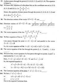 ncert exemplar problems class 12 mathematics three dimensional