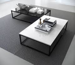 pop up home marble coffee table white