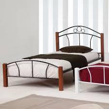 twin platform bed. Carlin Twin Platform Bed Black And Walnut Posts G