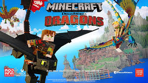 The ender dragon is a gigantic flying hostile boss mob found when first entering the end. Minecraft Receives Dreamworks How To Train Your Dragon Dlc Nintendo Everything