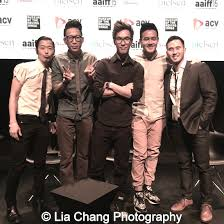 Aaron Yoo, Chris Dinh, Wesley Chan, Philip Wang and Kevin Lee  aaiff2015_Photo by Lia Chang Image272 | Backstage Pass with Lia Chang