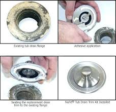 how to fix the bathtub drain how to change a bathtub drain view the installation process how to fix the bathtub drain
