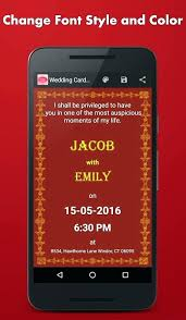 Invitations Card Maker Mobile Invitation Maker Mobile Invitation Card Maker Wedding