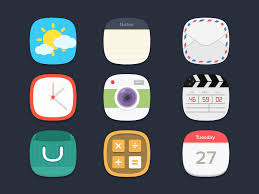 best app icons flat icons freebie by seevi kargwal dribbble dribbble