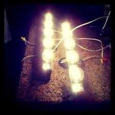 diy plug in vanity light bought this