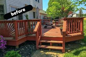 deck ideas. Deck Railing Ideas For Privacy Stunning Backyard Covered Amp Our Makeover Reveal P