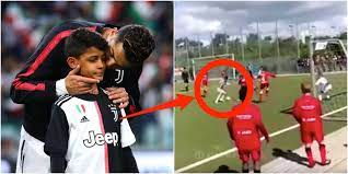 Cristiano Ronaldo's son has scored more Juventus goals than his dad -  Business Insider