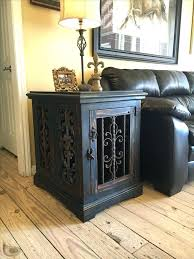 incredible dog kennel coffee table crafty for end crate diy furniture plans