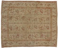 10 x 12 antique oushak rug 73736