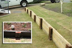 Small Picture iLandscape Products Small Timber Wall KG Landscaping