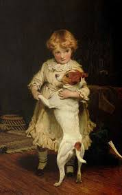 british paintings charles burton barber my first partner