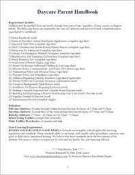Daycare Contract Template Free Child Care Contract Template