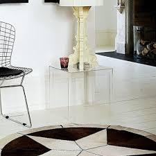 kartell jolly  modern plastic side table