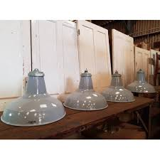 reclaimed industrial lighting. RECLAIMED INDUSTRIAL CRYSELCO SHADES GREY WITH PART GALLERIES (SET OF 4) (CDC- Reclaimed Industrial Lighting