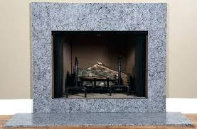 granite fireplace surround popular marble facing with blue kits