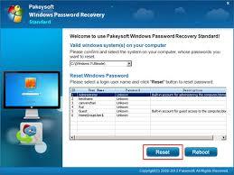 windows 7 pword reset disk