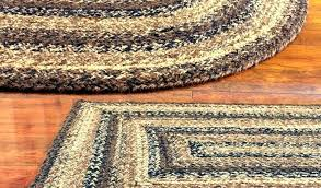 full size of red and tan braided rug black oval furniture pretty by country star