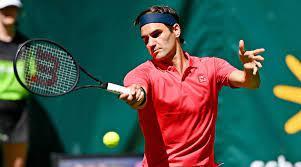 Roger Federer wins on return to grass ...
