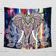 Image Ideas 2018 New Hot Indian Elephant Home Tapestry Wall Hanging Beach Towel Hang Bedroom Living Room Decoration Aliexpress 2018 New Hot Indian Elephant Home Tapestry Wall Hanging Beach Towel